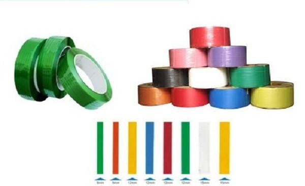Dây dai nhựa pp tphcm - Dây đai có bề mặt sáng bóng, màu sắc đẹp, khía cạnh đai mềm, an toàn cho người sử dụng