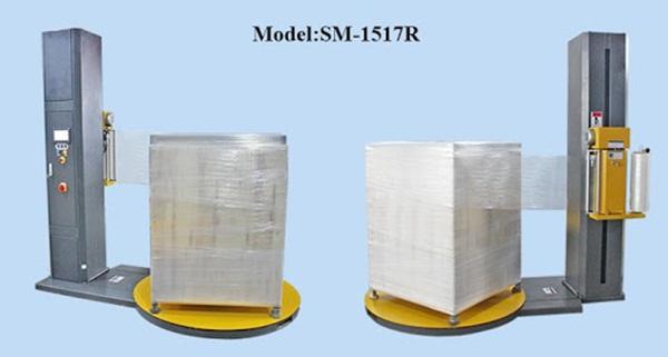 Sử dụng máy quấn màng để đảm bảo hàng hóa được đóng gói an toàn nhất